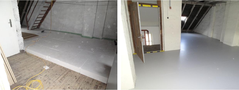 Dachbodendämmung Wärmedämmung Malerbetrieb Bönninger
