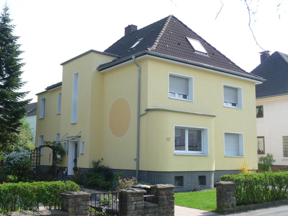 Fassade Gelb malerbetrieb referenzen innenarbeiten aussenarbeiten